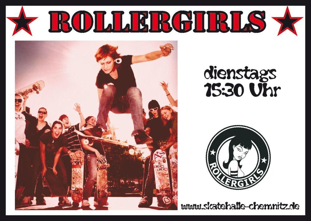 482a62b7c7e Rollergirls Anfängerkurs für Skateboard und BMX